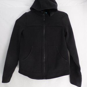 ivivva, 12, black zip up sweatshirt hoodie BNWOT
